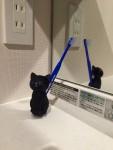 くろねこ歯ブラシ ~ Black Cat Toothbrush