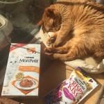 「史上最高の美味しさ」のモンプチと手から食べるおやつ ~ Most Fabulicious Mon Petit !?